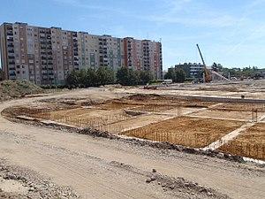 Haladás Sportkomplexum - Image: Haladás épülő2 08 04