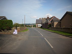 Hamlet of Eckford in Roxburghshire. - geograph.org.uk - 979101.jpg