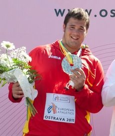 Hammer throw podium Ostrava 2011 (cropped).jpg