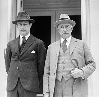 John Hays Hammond Jr. - John Hays Hammond Jr. and Sr., 1922