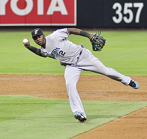 Hanley Ramírez - Ramírez playing for the Florida Marlins in 2009