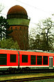 Hannover Bahnausbesserungswerk Leinhausen Leinhausen-Park Wasserturm.jpg