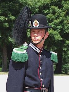 Hans Majestet Kongens Garde* HMKG - Gardeplaten