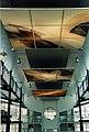 Hansjürgen Gartner, Kunst im Öffentlichen Raum, AOK-Zentrale, Ingolstadt, Deutschland, 1995 (bei Abendbeleuchtung).jpg