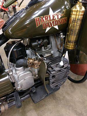 Harley-Davidson XA - Harley-Davidson XA engine