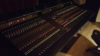 Harrison Audio Consoles - Harrison SeriesTEN - Worlds first digitally controlled analog console.