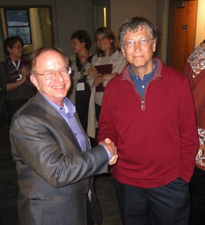 Living Computers: Museum + Labs - Harry Garland and Bill Gates at the same event
