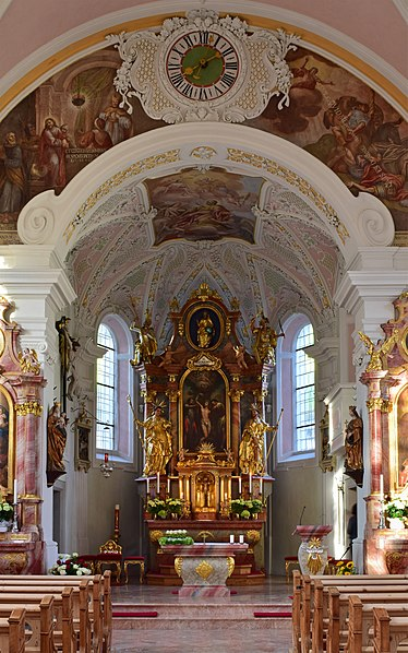 Datei:Hart im Zillertal - Pfarrkirche hl Bartholomäus - Altar.jpg