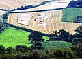 Harvest in the North Downs - geograph.org.uk - 1440938.jpg