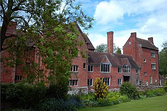 Harvington Hall - Image: Harvington Hall at Harvington Chaddesley Corbett Worcestershire 04