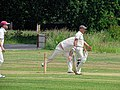 Hatfield Heath CC v. Takeley CC on Hatfield Heath village green, Essex, England 21.jpg