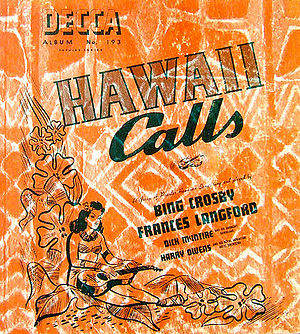 Hawaii Calls (album) - Image: Hawaii Calls Bing 1941