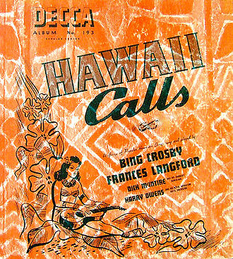 Hawaii Calls (album) - Image: Hawaii Calls Bing 1941
