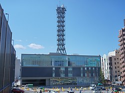 Headquarters building of Akita Broadcasting System 20200328.jpg