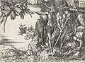 Heinrich Aldegrever, Le riche dans le séjour des morts (Luc 16, 23).jpg