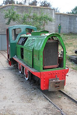 Hel - Museum of Coastal Defence - Narrow gauge railway 01