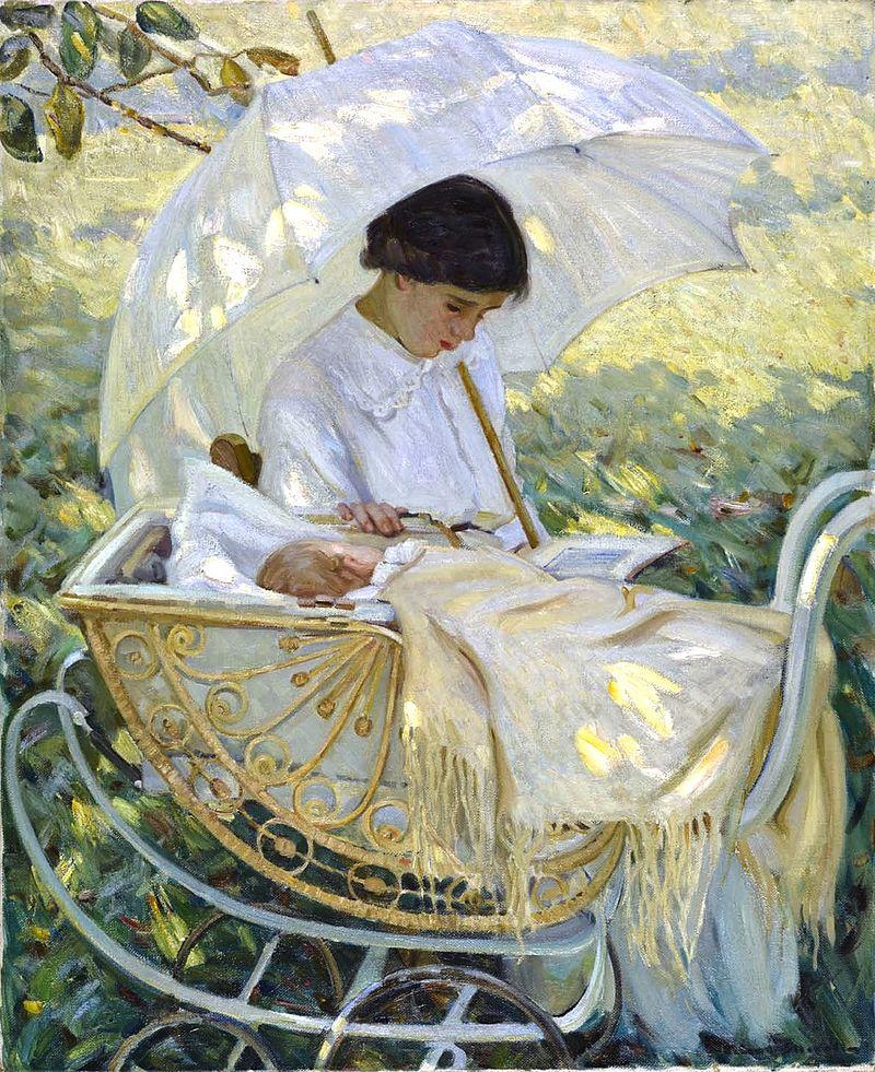 Helen McNicoll - A l'ombre de l'arbre.jpg