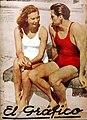 Helene Madison y Johnny Weissmüller - El Gráfico 690.jpg