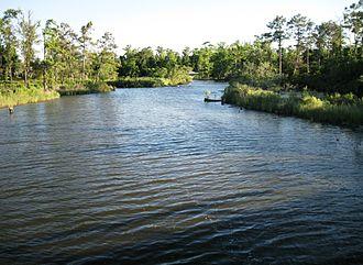 Lake Charles, Louisiana - Henderson Bayou