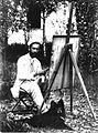 Henrique Bernadelli, innerhalb des Parks der Villa Borghese, 1888.jpg