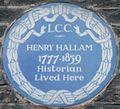 Henry Hallam 67 Wimpole Street blue plaque.jpg