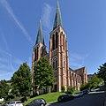 Herz Jesu Kirche, Kolpingplatz Bregenz 4.JPG