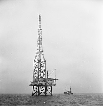 Pirate radio - REM Island was a platform off the Dutch coast used as a pirate radio station in 1964 before being dismantled by the Netherlands Marine Corps.