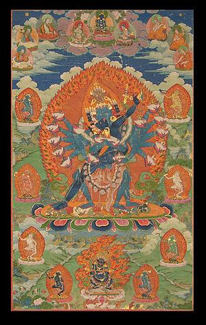 Hevajra - Hevajra Nairatmyai. Tibet, 18th Century