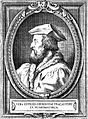 Hieronymus Fracastorius. Line engraving by (F. C.). Wellcome L0019415.jpg
