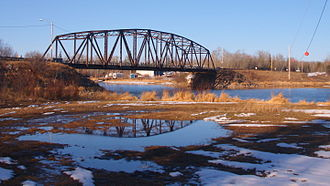 Buffalo Narrows - Highway 155 bridge over the Kisis Channel