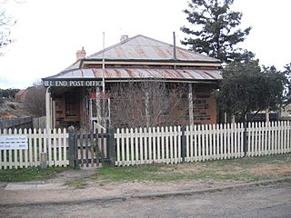 Hill End Historic Site Heritage listed and former gold rush town in New South Wales, Australia