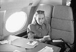 Hillary Rodham Clinton on plane using Game Boy (01).jpg