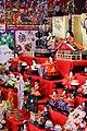 Hina doll set, Asuke-cho Toyota 2014.jpg
