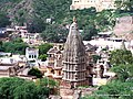 Hindu Temple near Amer Fort - panoramio.jpg