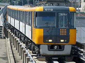 Astram Line - 6000 series set 19 in September 2012