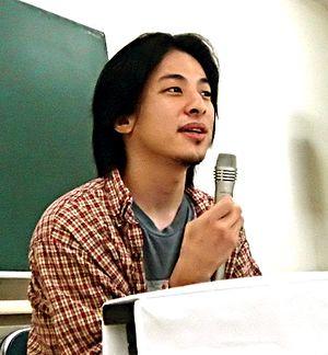 Hiroyuki Nishimura - Hiroyuki Nishimura in Sapporo, 2005