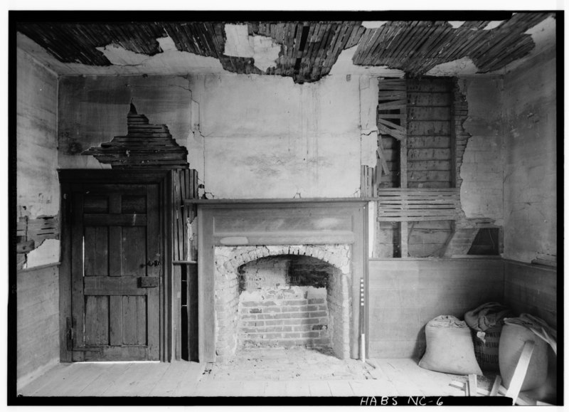 File:Historic American Buildings Survey, C.O. Greene, Photographer June 7, 1940 DINING ROOM (SOUTHEAST WALL). - Cascine, State Route 1702, Louisburg, Franklin County, NC HABS NC,35-LOUBU.V,1-6.tif