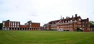 Hitchin Girls' School - Image: Hitchin Girls School 2017