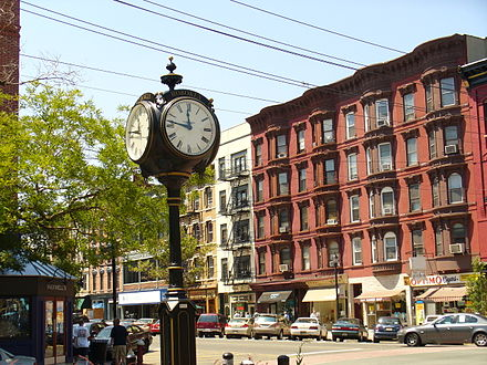Clock at Eleventh Street Hoboken3.jpg