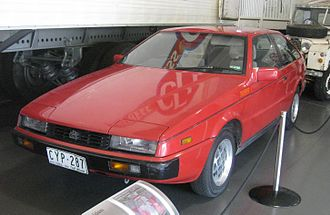Isuzu Piazza - The Piazza was marketed in Australia as the YB series Holden Piazza