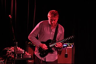 Allan Holdsworth - Holdsworth in 2012.