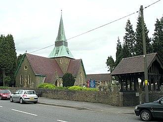 Felinfoel - Holy Trinity church, Felinfoel