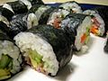 Homemade sushi by Francys and Jessie.jpg