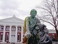 L'université de Virginie, fondée par Thomas Jefferson.