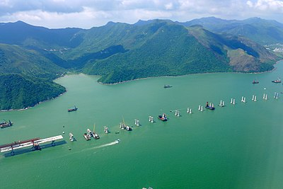 Hong Kong-Zhuhai-Macau Bridge Site HK view 201506.jpg