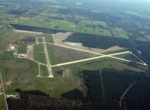 Hope Municipal Airport - Image: Hope M18