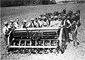 Horsedrawn seed drill - Scheyville (2947825839).jpg