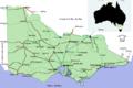 Horsham dans l'état de Victoria en Australie.png