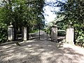 Horssen (Druten) Rijksmonument 22642 Huis te Horssen (poort park).JPG