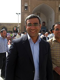 Hossein Muzaffari in Grand Mosque of Nishapur - October 5,2013 - Friday Pray 2.jpg